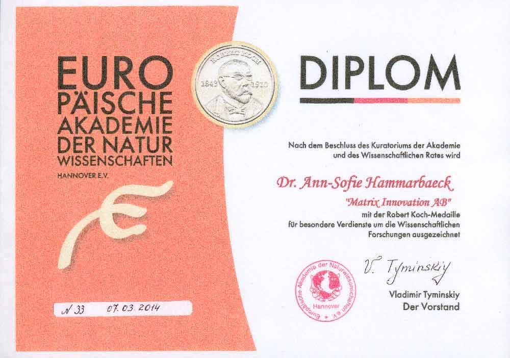Robert Koch diplom